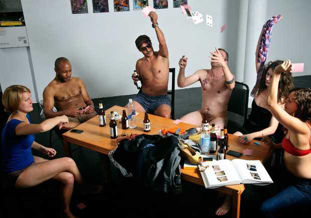 histoire de cul strip poker